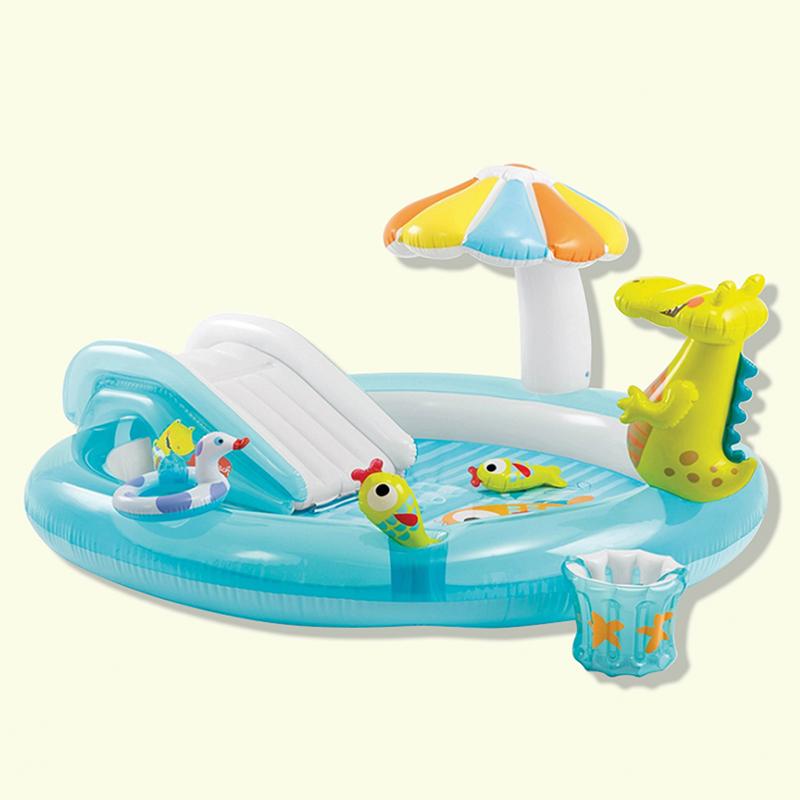 Bể bơi Intex khủng long