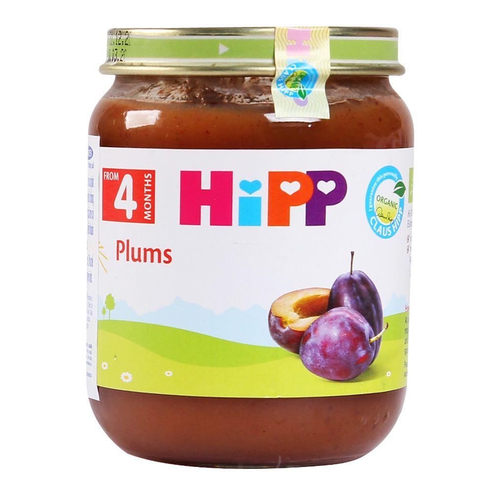 Dinh dưỡng đóng lọ HiPP mận tây 4+ AL4253 (125g)