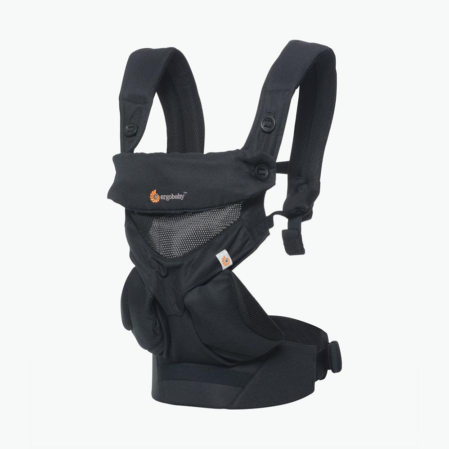 Địu cho bé Ergobaby 360 Cool Air Mesh – Onyx Black