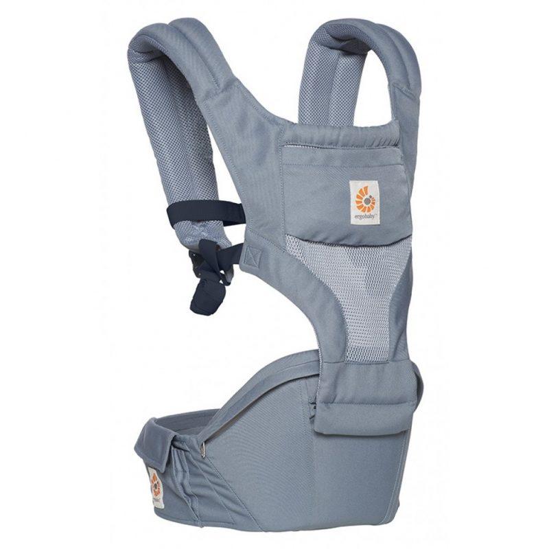 Địu cho bé Ergobaby Hip Seat Cool Air Mesh – Oxford Blue