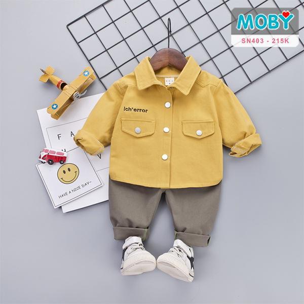 SN403 - Set áo sơ mi & quần cho bé