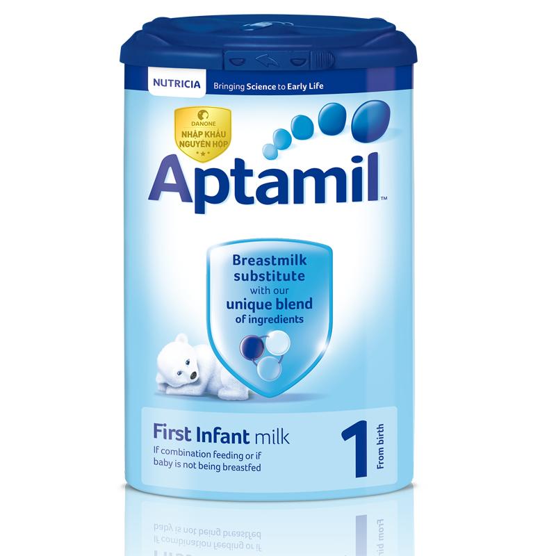 Sữa Aptamil Anh số 1 900g (0 - 6 tháng)