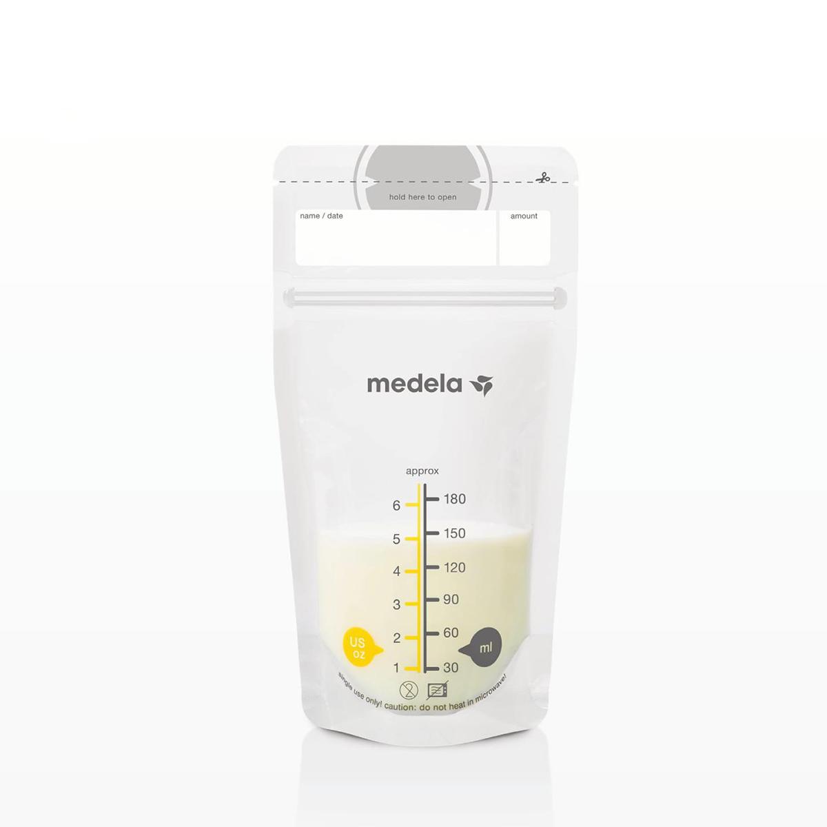 Túi trữ sữa Swiss 25pcs Medela (180ml )