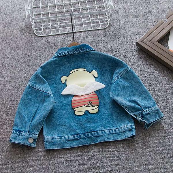 KT36 - Áo khoác Jeans cho bé