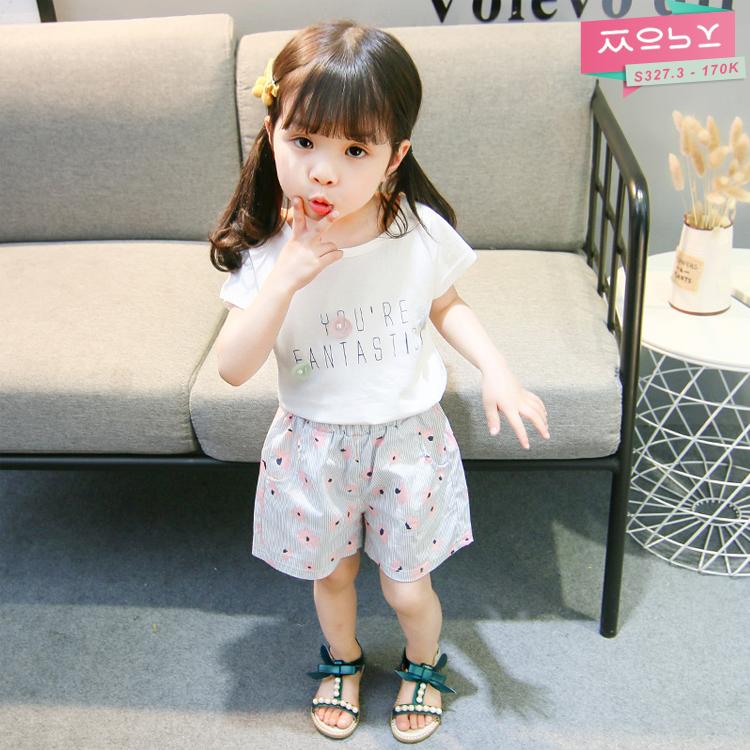 S327.3 - 170K - Set quần áo bé gái