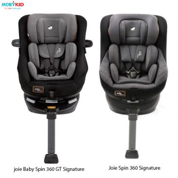 So sánh ghế ngồi ô tô Joie Spin 360 GT Signature và Joie Spin 360 Signature