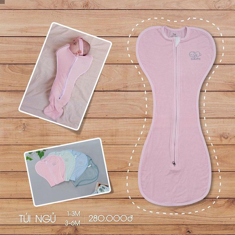 TN001.pink- Túi ngủ cho bé - Bu
