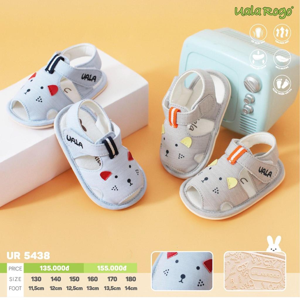 UR5438.1- Giày tập đi cho bé chuột xanh