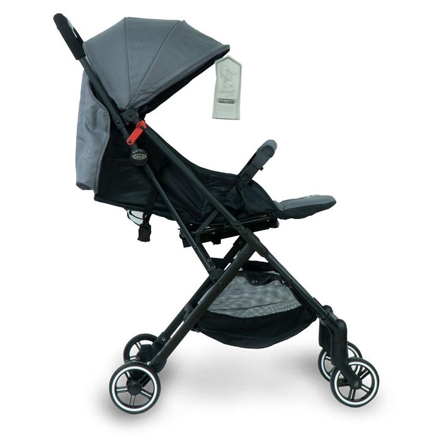 Xe đẩy em bé Gluck C3 - Màu Đen