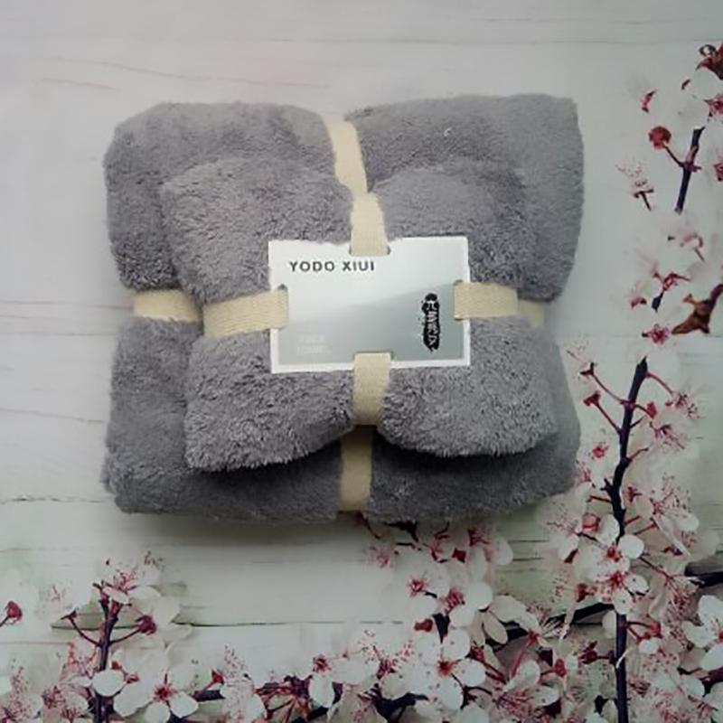 Set khăn Nhật Yodo màu xám