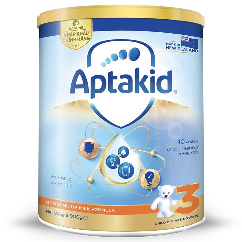 Sữa Aptakid - Aptamil New Zealand số 3 900g (Trên 2 tuổi)