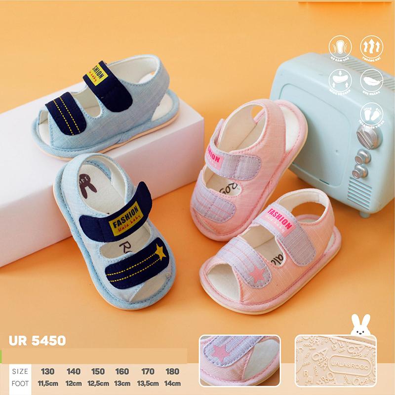 UR5450.1- Giày tập đi cho bé Milk xanh