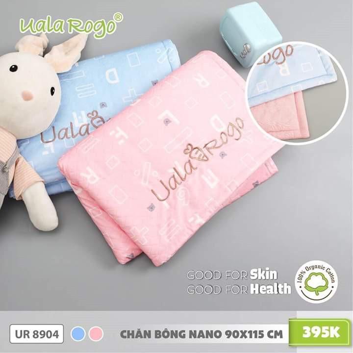 UR8904.2 - Chăn bông Nano 90xc115cm - Màu xanh