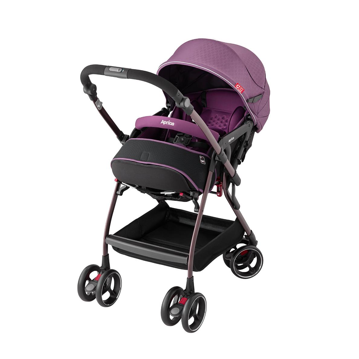 Xe đẩy em bé Aprica Optia Premium CTS Purple 499805