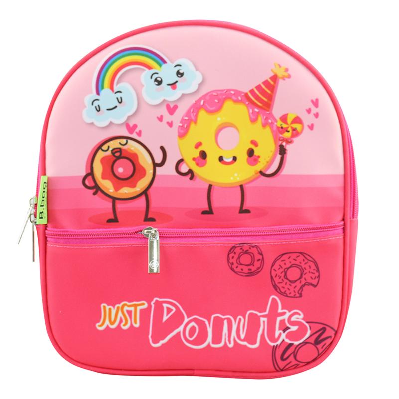 Ba lô MG Wonderland-Donut B-12-061 (Màu hồng đậm)