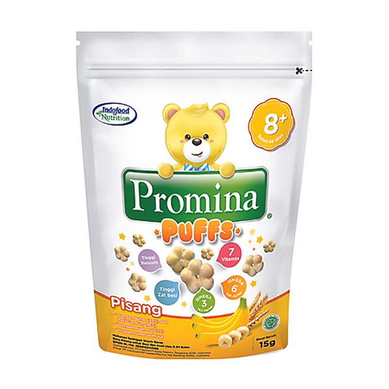 Bánh ăn dặm Promina Indofood vị chuối 15g