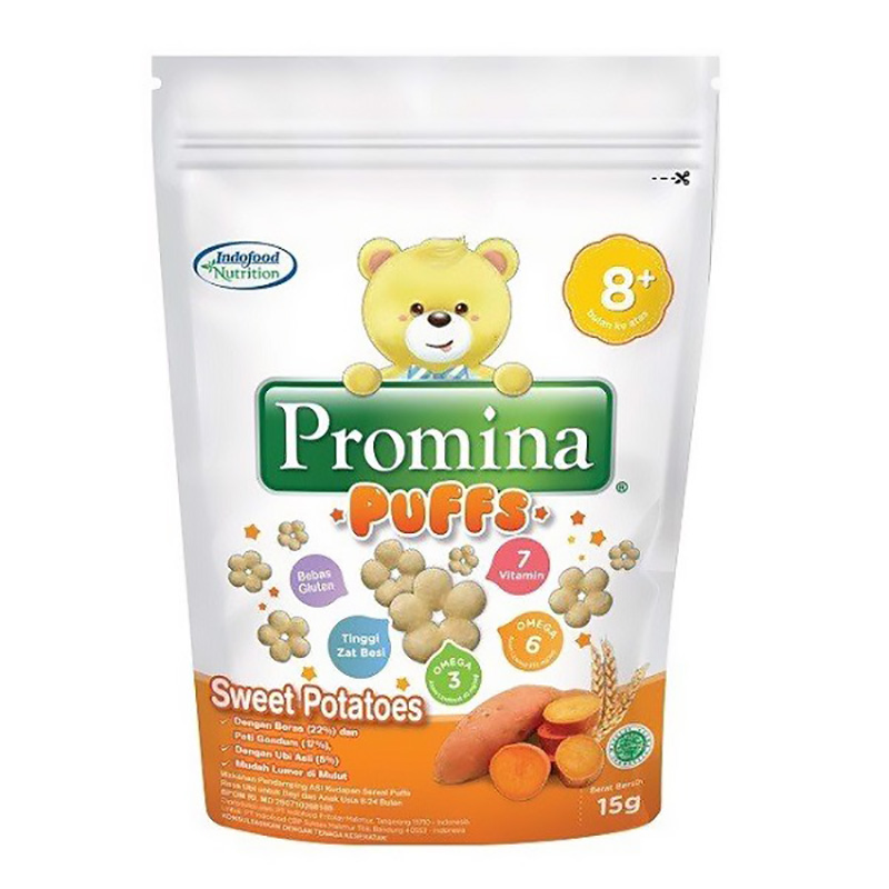 Bánh ăn dặm Promina Indofood vị khoai lang 15g