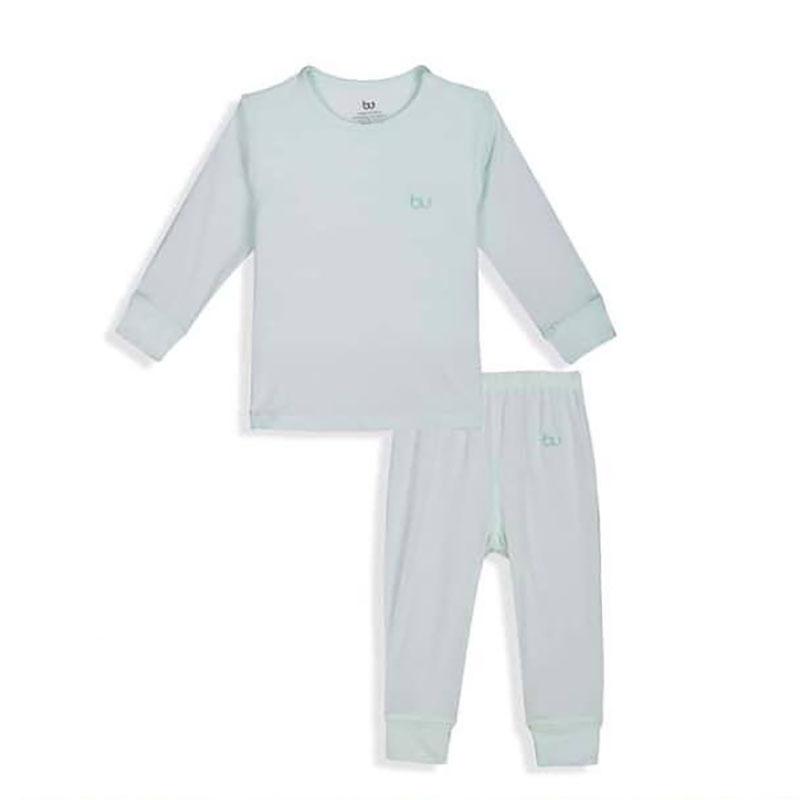 BB001.mint- Bộ dài tay cài vai quần dài BU
