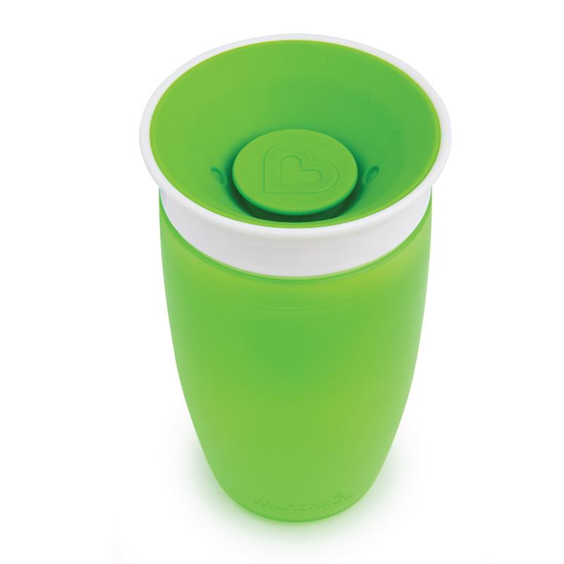 Cốc tập uống 360 độ lớn Munchkin 296ml màu xanh lá