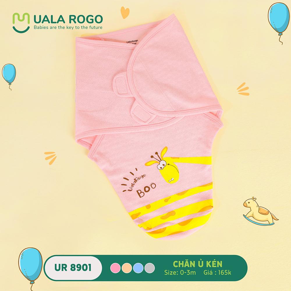 UR8901.3 - Chăn ủ kén sơ sinh Uala Rogo - Màu Hồng