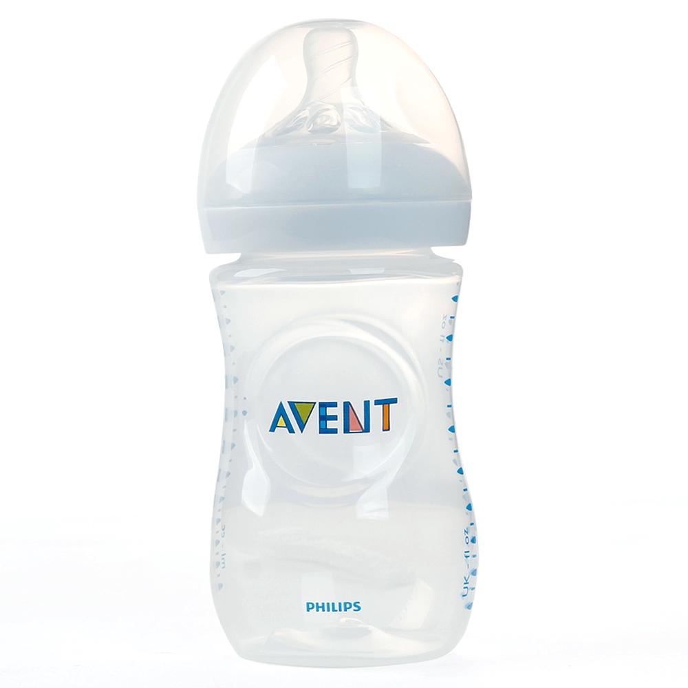 Bình sữa Philips Avent Natural nhựa PP BPA Free cổ rộng mô phỏng tự nhiên 260ml (SCF693/13)