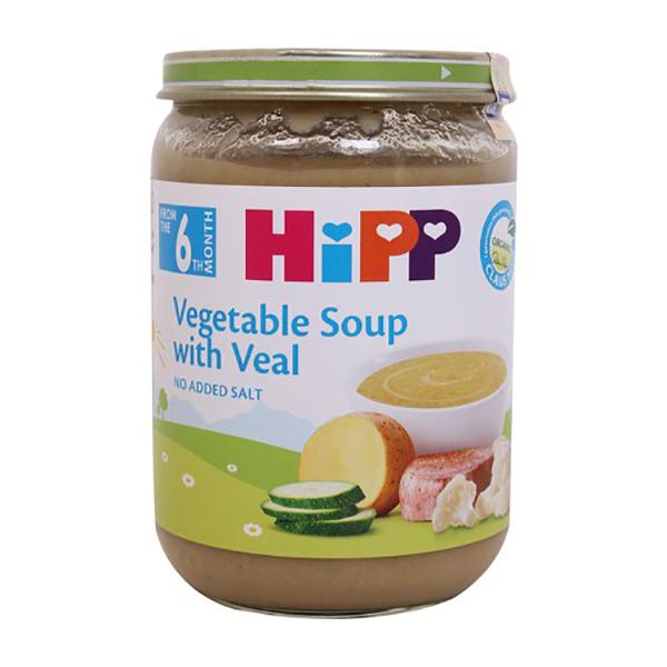 Dinh dưỡng đóng lọ HIPP Organic thịt dê, rau tổng hợp 190G AL7983-01