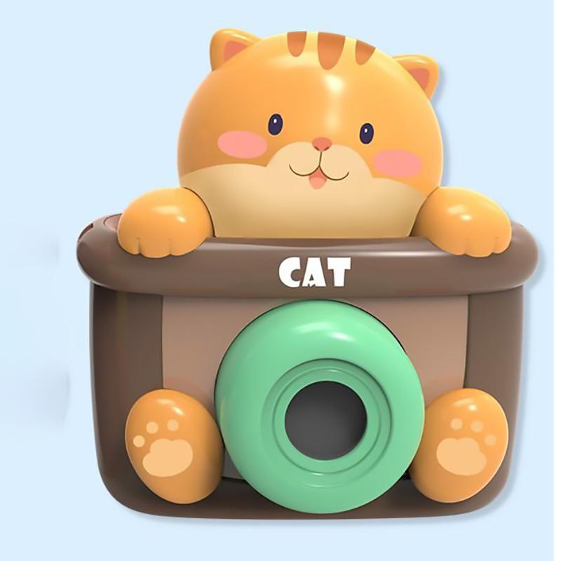 Máy ảnh tạo bong bóng Umoo mèo vàng