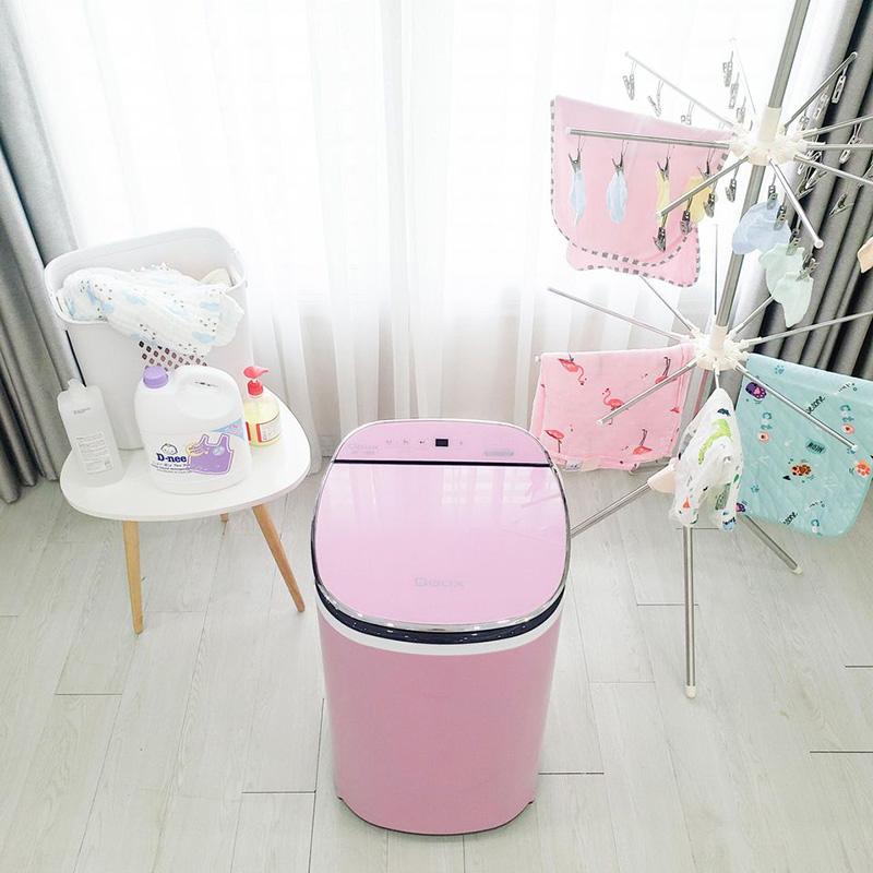 Máy Giặt Mini Doux Lux Màu Hồng