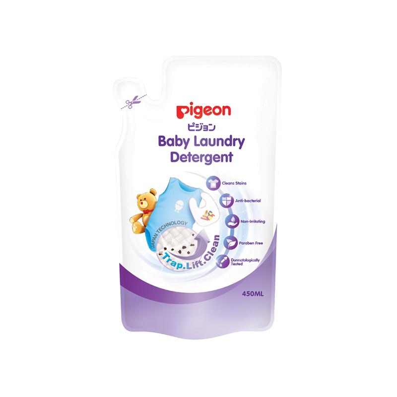 Nước giặt quần áo trẻ em Pigeon (dạng túi - 450ml)