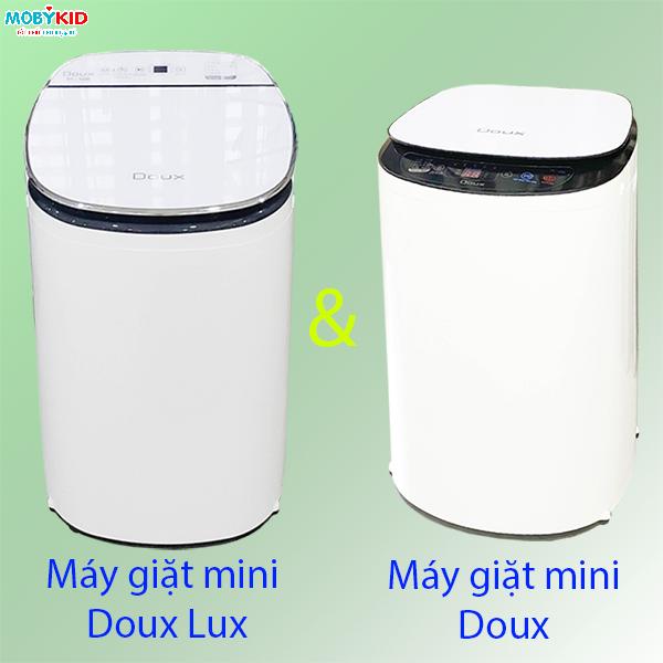 So sánh máy giặt Mini Doux Lux mới và Doux cũ, nên mua loại nào?