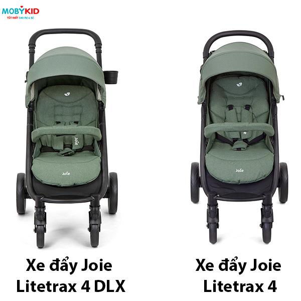 So sánh xe đẩy Joie Litetrax 4 DLX và Joie Litetrax 4