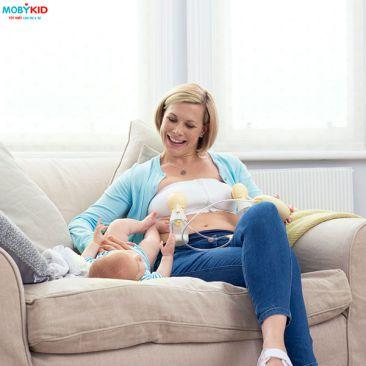 Vì sao mẹ nên chọn mua máy hút sữa bằng điện thay vì chọn máy hút sữa bằng tay?