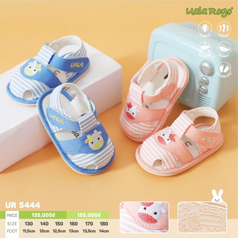 UR5444.1- Giày tập đi cho bé cừu xanh Uala Rogo