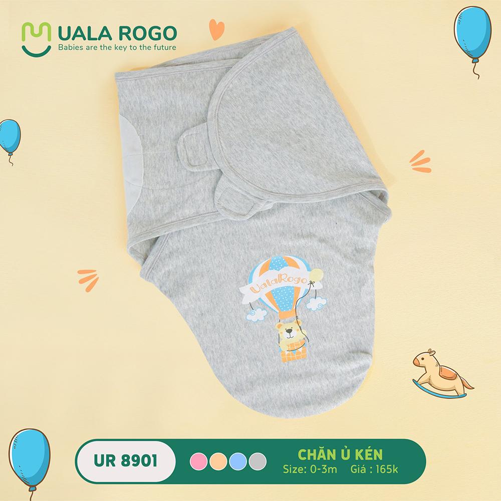 UR8901.2 - Chăn ủ kén sơ sinh Uala Rogo - Màu Xám