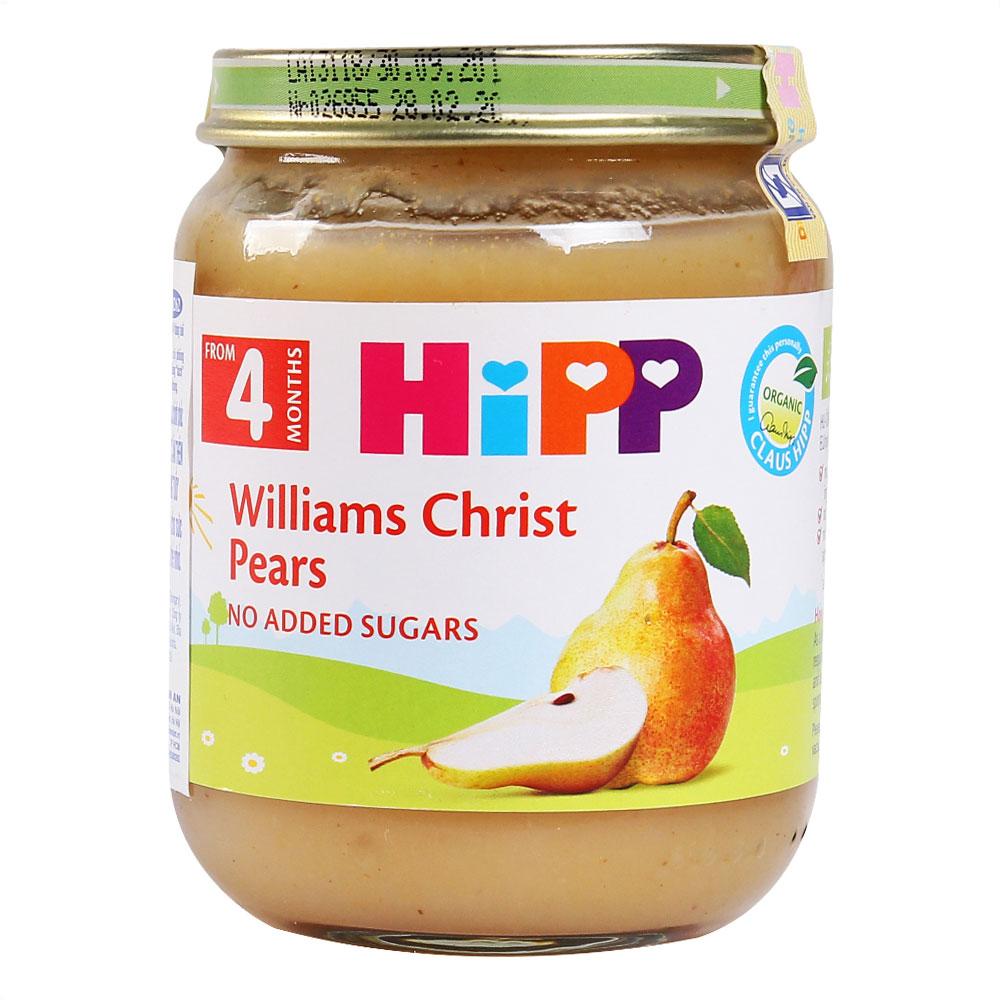 Dinh Dưỡng Đóng Lọ Lê Williams HiPP 125g - AL4262