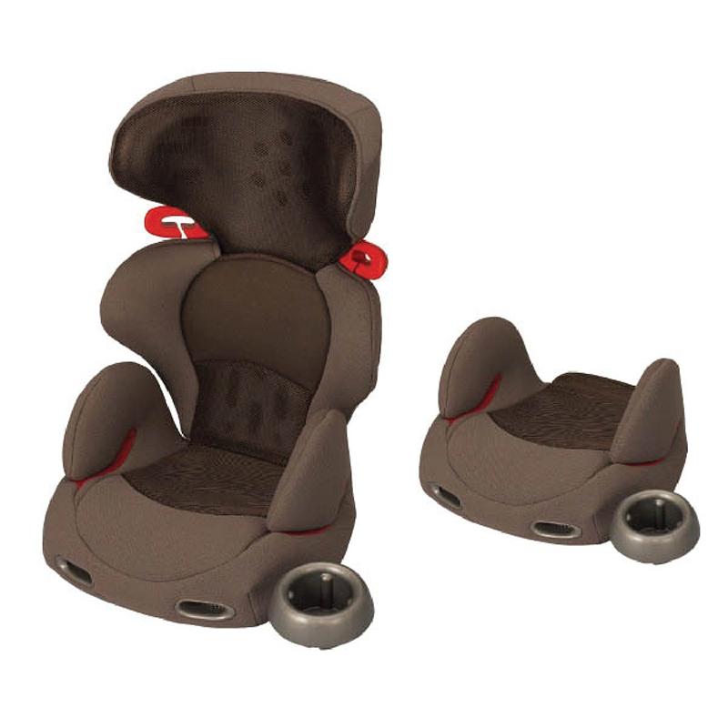 Ghế ô tô Combi Buon Junior Air màu ghi nâu