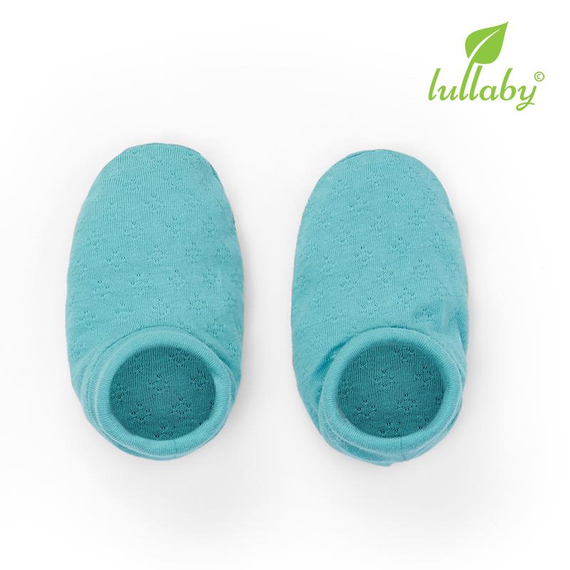 NH60B.2 - Bao chân có cổ Lullaby màu xanh