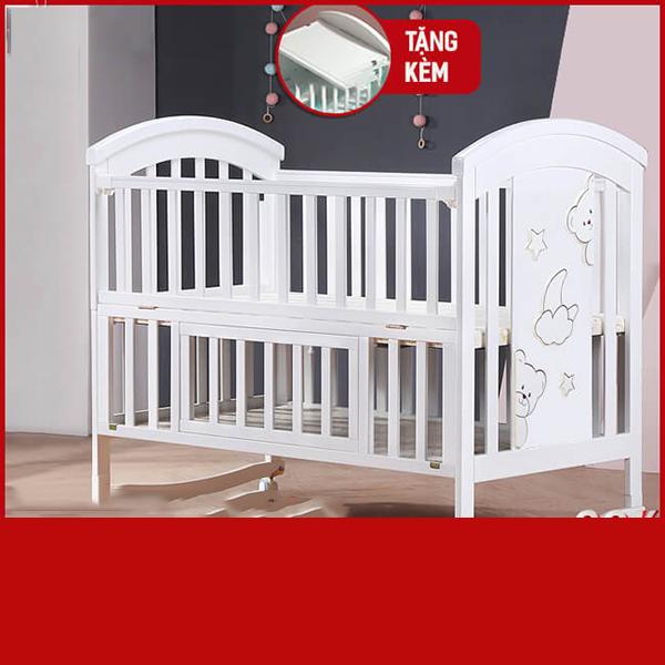 Nôi cũi em bé đa năng Chilux – NCT01-1 (Cũi)