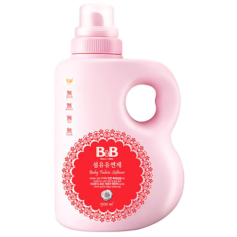 Nước xả vải dành cho bé B&B Bergamot dạng bình  - 1500ml