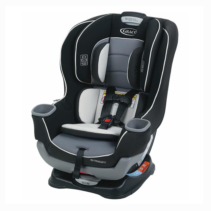 Ghế ngồi ô tô trẻ em Graco Extend2Fit Convertible Gotham 8AQ00GOT