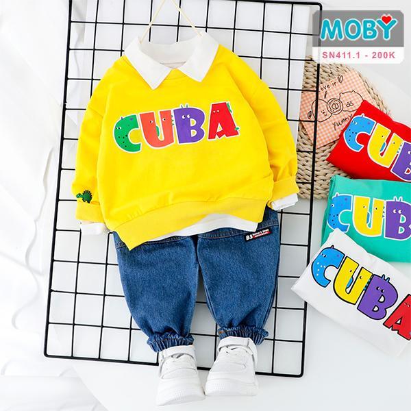 SN411.1 - Set áo & quần jeans cho bé