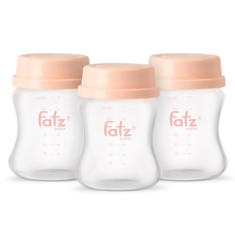 Bình trữ sữa 140ML (Bộ 3 bình) - Store 2 - Fatzbaby FB0140VNH