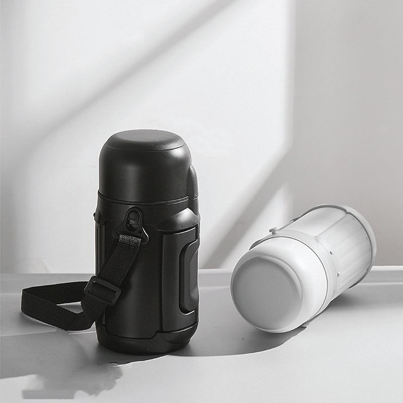 Bình ủ cháo giữ nhiệt Doux màu đen