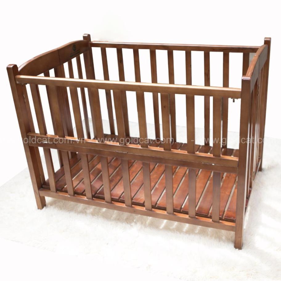 Cũi gỗ giường Cánh gián GoldCat (130×85×86)