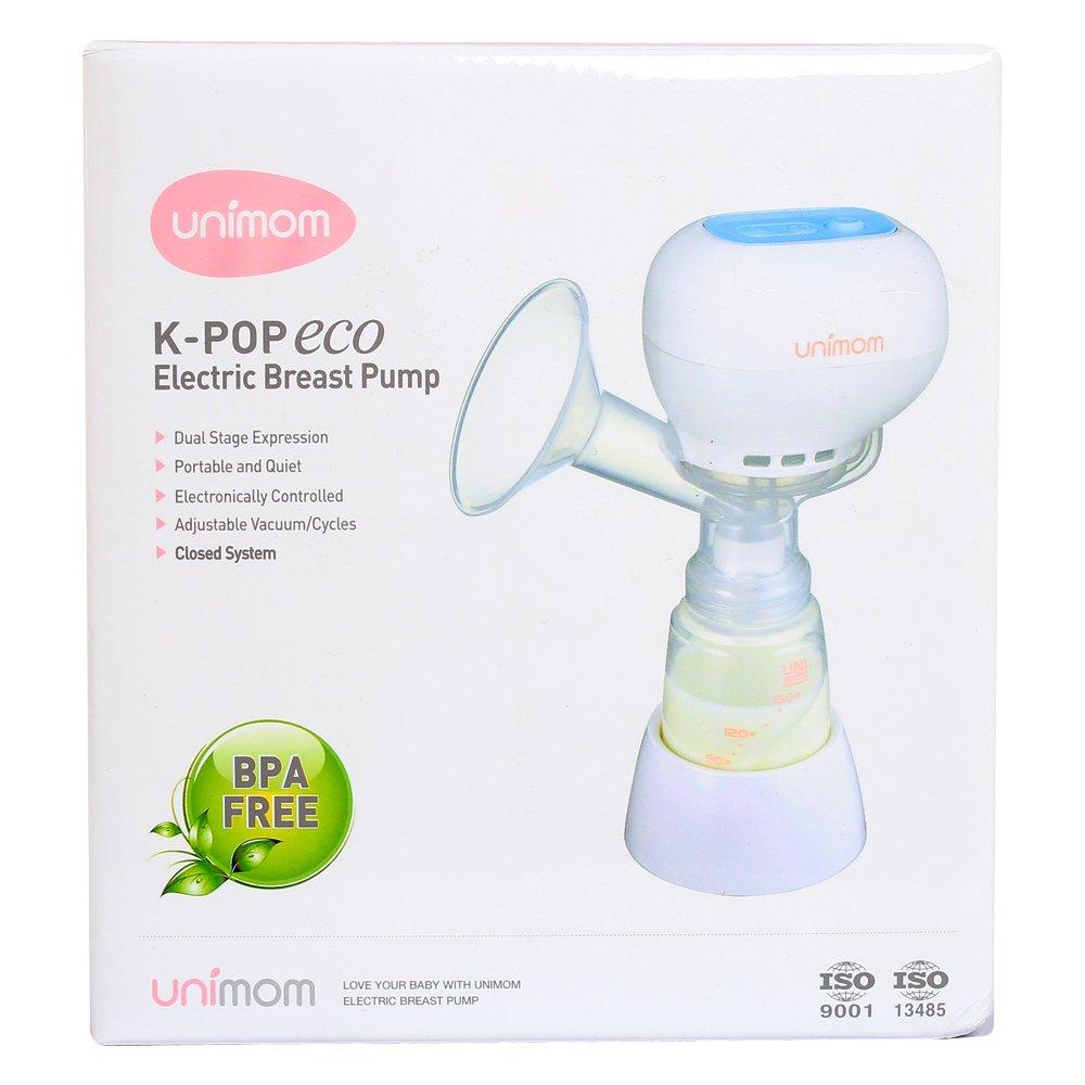 Máy hút sữa điện đơn  Unimom Kpop  Eco (Không pin sạc)