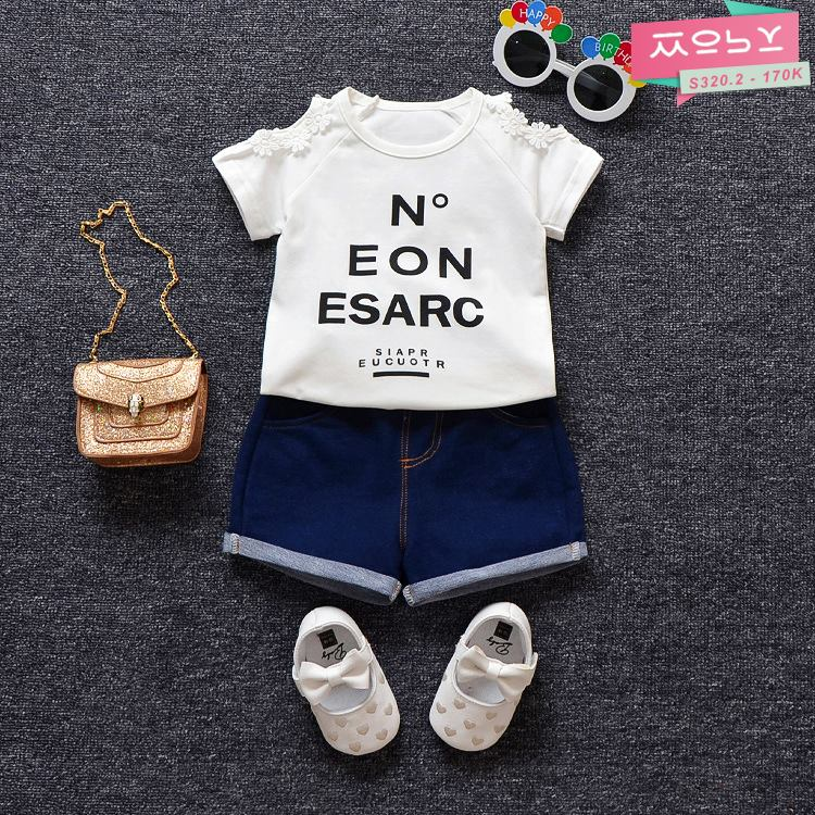 S320.2 - Set quần áo bé gái