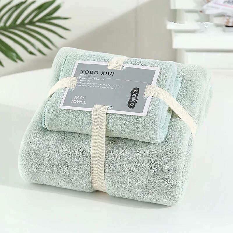 Set khăn Nhật Yodo màu xanh