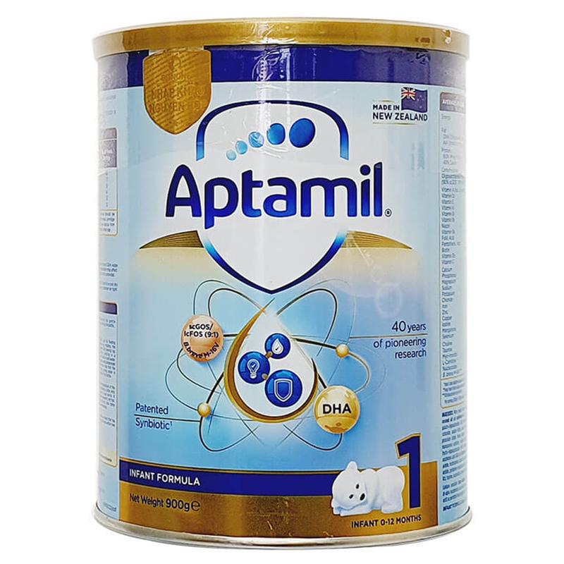 Sữa Aptamil New Zealand số 1 900g (Từ 0-1 tuổi)