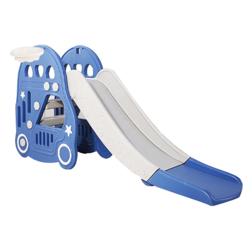 Cầu trượt cho bé Toyshouse hình ô tô HT30 - Màu xanh dương