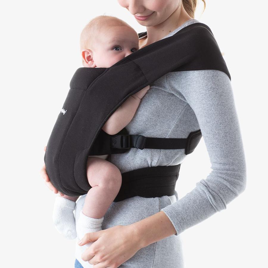 Địu cho bé mới sinh Ergobaby Embrace Cozy – Màu Đen